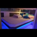 Location de Yacht Marseille: chambre double du RYO sublime